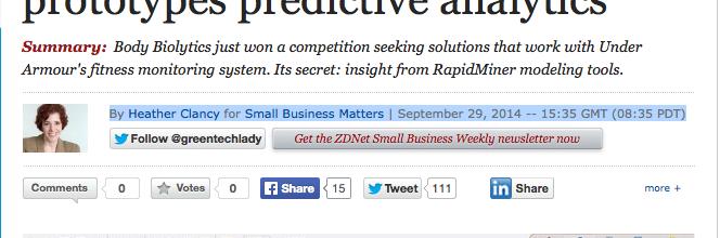 ZDNet Interview-  Kevin Logan talks Predictive Analytics using Rapid Miner