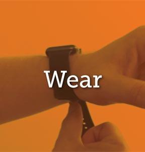 wear wristband